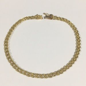 Jewelry - 14k Yellow Gold Rope Chain Bracelet